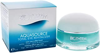 Biotherm Aquasource Total Eye Revitalizer for Unisex - 0.5 oz Eye Cream, 15 Milliliter