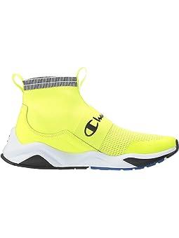 Men's Champion Yellow Shoes + FREE