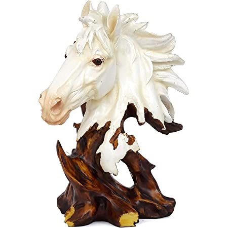 Tied Ribbons Horse Statue Home Decorative Items   Decorative Item For Gifts   Showpiece Home Decoration