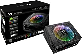 Thermaltake Toughpower iRGB Plus 80+ Platinum - Fuente de alimentación (1200 W) Color Negro