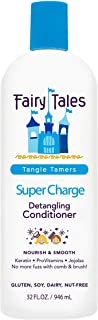 Fairy Tales Tangle Tamer Super Charge - Detangling Conditioner for Kids - Paraben Free, Sulfate Free, Gluten Free, Nut Free- 32 oz