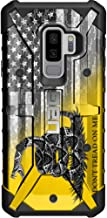Limited Edition - Customized Designs by Ego Tactical Over a UAG Urban Armor Gear Case for Samsung Galaxy S9 Plus (Larger 6.2