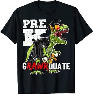Pre-K Grawrduate Dinosaur Graduation Cap Gown Shirt Gift
