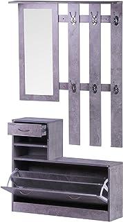 HOMCOM Conjunto de Muebles de Entrada Recibidor Pasillo Set