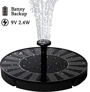 solar powered fountain pump uk