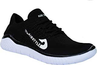 MAX AIR Sports Running Shoes for Men 8520 Black