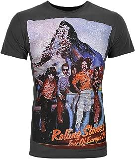 Amplified Rolling Stones Tour '76 Men's T-Shirt