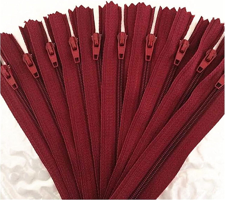 PJRYC 50pcs 6 7 Max 45% OFF 8 Long Beach Mall 10 12 14 22 16 Tailor 24 Zipper Mix Inch 20