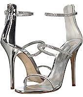 Giuseppe Zanotti - Harmony Sparkle Rhinestone Chain Strap Heel Sandal