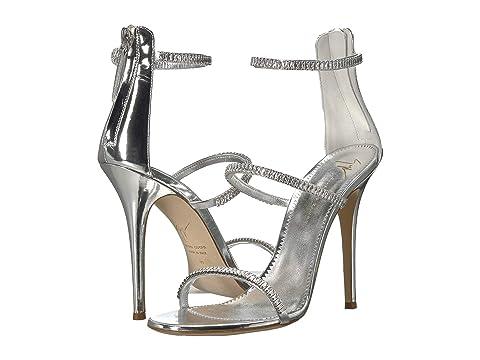 c356593019982 Giuseppe Zanotti Harmony Sparkle Rhinestone Chain Strap Heel Sandal ...