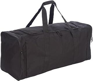 Jetstream 36 Inch 3-Pocket Hockey Equipment Duffle Bag (Black)