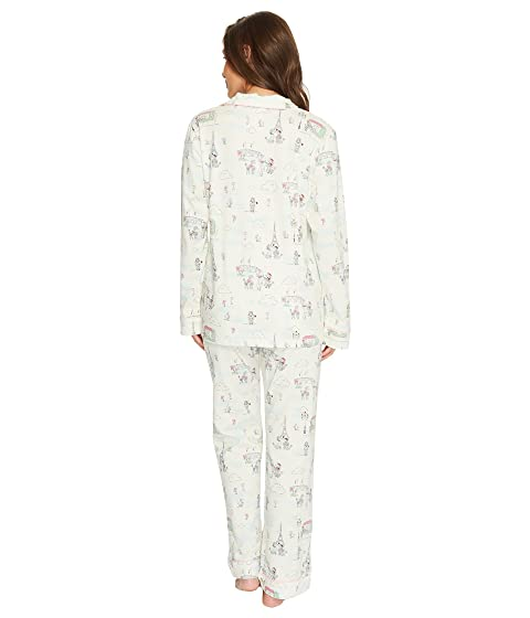 BedHead Long Pajama Piece Set Classic Sleeve Knit Two CTgCw
