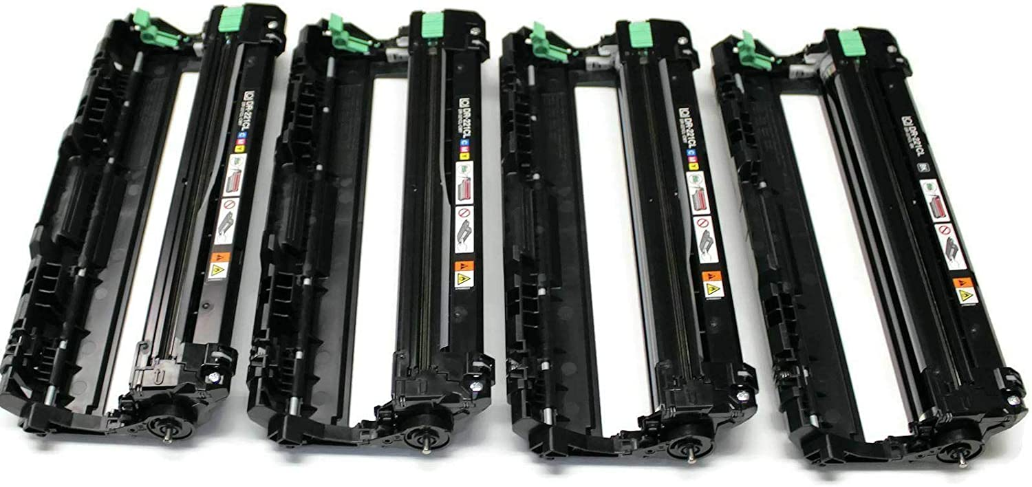 remanufactured 4 pcs Drum Replacement for Brother DR-221CL DR221CL MFC-9130CW, MFC-9330CDW, MFC-9340CDW, HL-3140CW, HL-3170CDW Printer