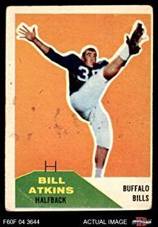 1960 fleer football cards