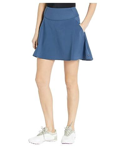 PUMA Golf PWRSHAPE Solid Woven Skirt (Dark Denim) Women