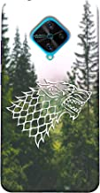 ECFAK Polycarbonate Game of Thrones Printed Back Cover Compatible for Vivo S1 Pro