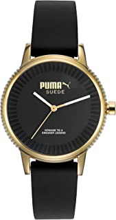 PUMA Time Suede PU104252002 Wristwatch for women very sporty