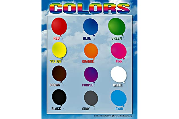 Best Color Charts For Toddlers Amazon