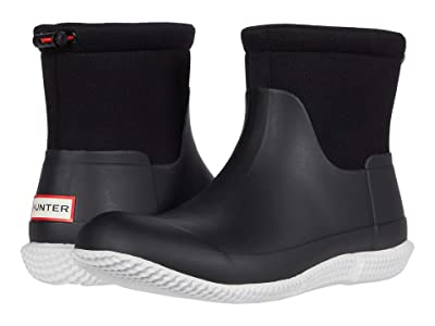 Hunter Original Mesh Short Boot (Black) Men