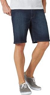 سروال قصير من قماش الدنيم بخمس جيوب من LEE Men's Extreme Motion مقاس 32
