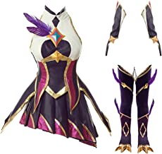 Game LOL League of Legends Star Guardians Xayah The Rebel Outfit Cosplay Costume