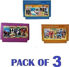 Crispy Deals Game cassets for 8 Bit Tv Video Game (3 Pcs)