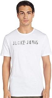 Jack & Jones Men's Beachs Short-Sleeve Crew Neck T-Shirt