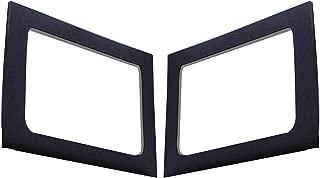 Design Engineering 050149 Boom Mat Sound Deadening Side Window Trim Kit for 4-Door Jeep Wrangler JK (2011-2018) - Black