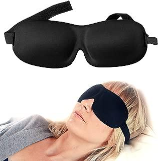 Luxury Patented Sleep Mask, Nidra® Deep Rest Eye Mask with Contoured Shape and..