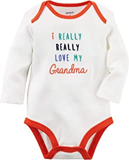 Carter's Baby Bodysuit - I Love Grandma - for Boys or Girls