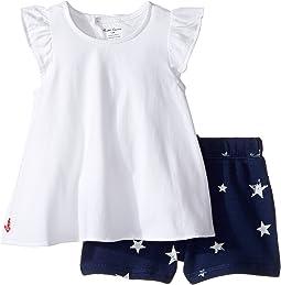 Jersey Knit Shorts Set (Infant)
