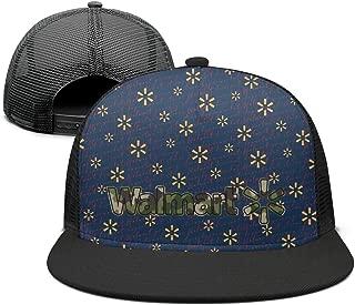 ZTUO Walmart-Army-Camouflage-Near-me- Mesh Flatbrim Baseball Cap Stylish Sun Hat