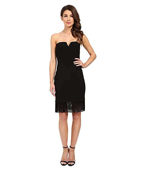 Strapless sheath cocktail dresses