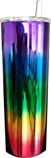 Stellar 20 oz. Skinny Steel Double Wall Stainless Tumbler (Rainbow)