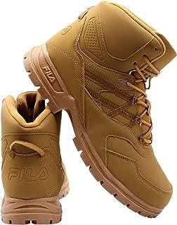 Mens Pro Strap Boot - Black/Wheat Tan