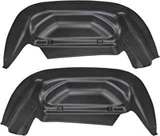 Husky Liners Fits 2014-18 Chevrolet Silveado 1500, 2019 Chevrolet Silverado 1500 LD, 2015-19 Chevrolet Silverado 2500/3500 - SINGLE REAR WHEELS Rear Wheel Well Guards
