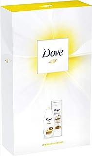 Dove Geschenkset Inclusief Douche Verzorging en Body Lotion, 250 ml en 400 ml