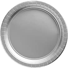 Amscan Silver Paper Plate Party