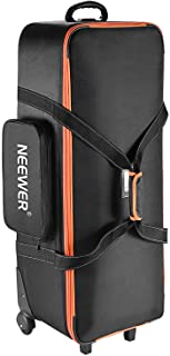 """Neewer Photo Studio Equipment Trolley Carry Bag 38""""x15""""x11""""/96x39x29cm with Straps Padded Compartment Wheel, Handle for Li..."""