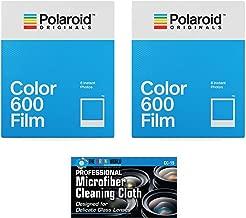 Impossible/Polaroid Instant Color Film for Polaroid 600 and Polaroid Originals OneStep Cameras - 2 Pack