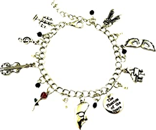 Broadway Musicals Phantom of The Opera Charm Bracelet Quality Cosplay Jewelry Series with Gift Box