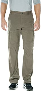 Men's Outdoor Water-Resistant Quick Dry Convertible Cargo Pants