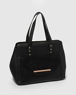 Black Teigan Tote Bag