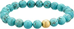Stabilized Turquoise Gemstone Beaded Bracelet