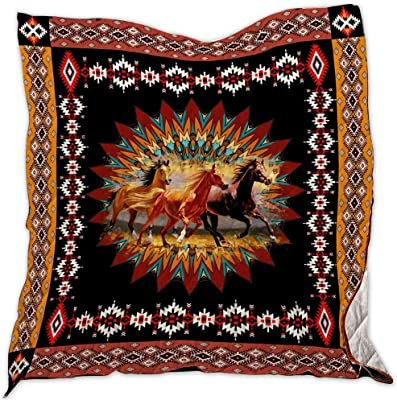 Twin All-Season Quilts Comforters with Reversible Cotton King//Queen//Twin Size African Culture Quilt TH433 Best Decorative Quilts-Unique Quilted for Gifts