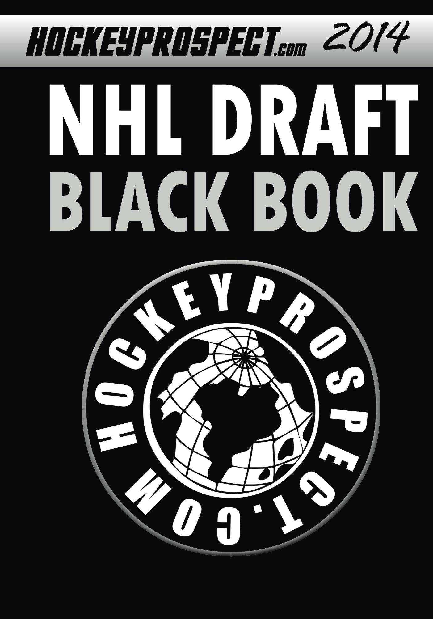 2014 NHL Draft Black Book (English Edition)