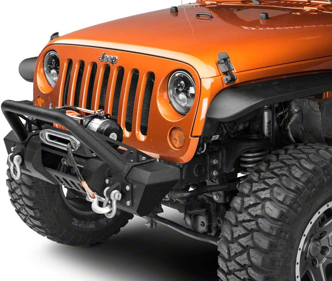 RED ROCK Stubby HD Pre-Runner Front Light Bumper 4x4 with Ranking Max 88% OFF TOP13 Ta Bar