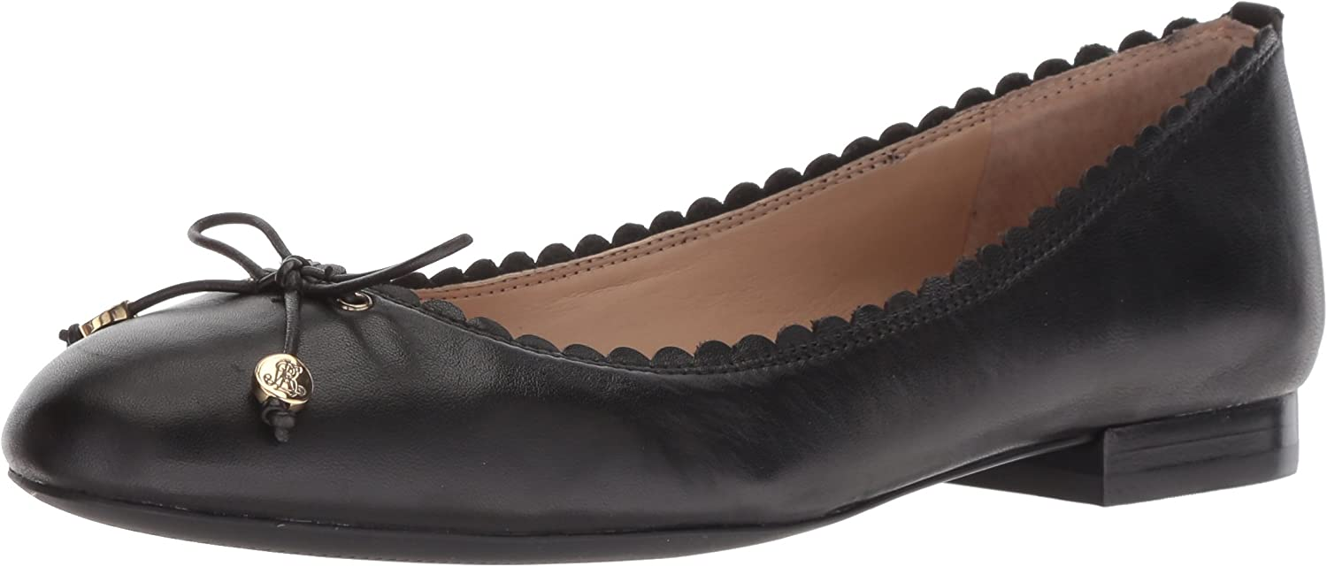Lauren by Ralph Lauren Womens Glennie Loafer Flat