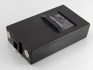 vhbw Batería Compatible con Hiab CombiDrive 4000 Mando a Distancia Industrial Control Remoto (2000mAh, 7,2V, NiMH)