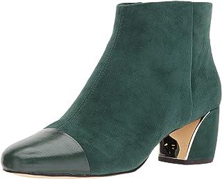 [ナインウエスト] Womens Joannie Leather Cap Toe Ankle Fashion Boots [並行輸入品]